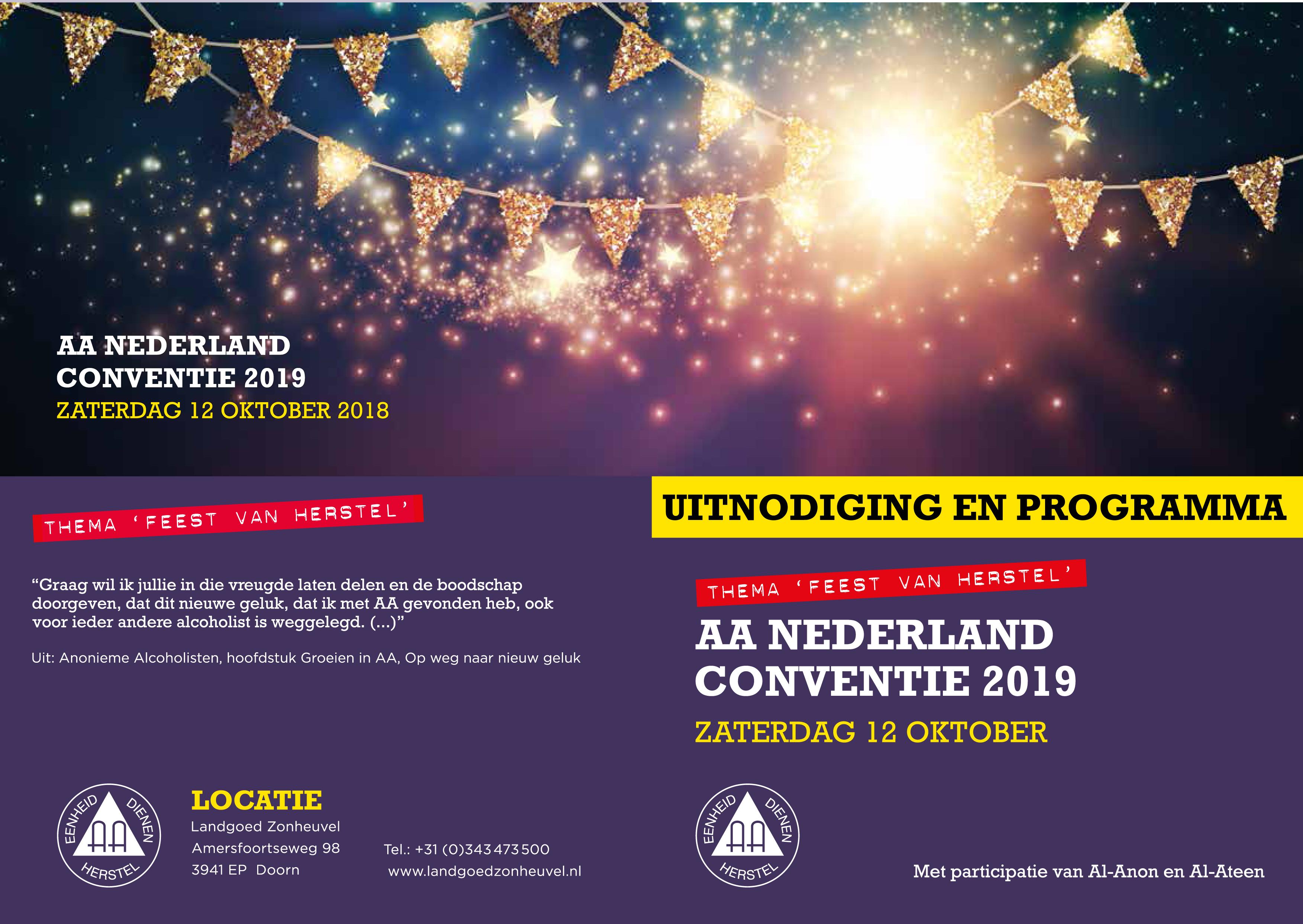 AA Conventie 2019